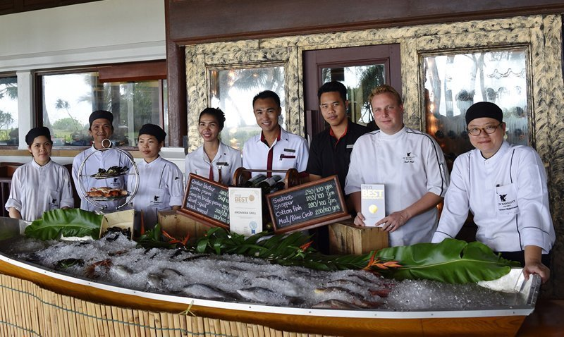 """""""Hat's Off"""" to Andaman Grill Steak & Seafood Awarded One of The Best Restaurants 2017 by Thailand Tatler"""