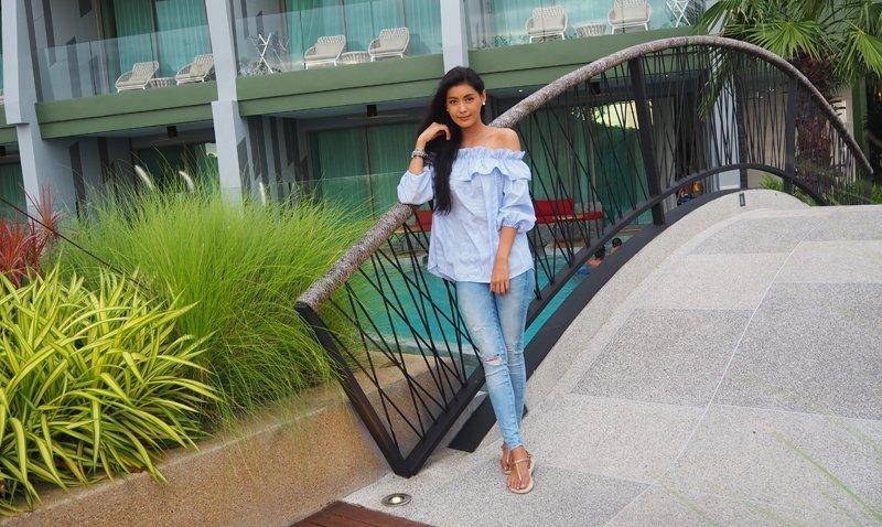 Crest Resort & Pool Villas has warm welcomed the famous actress, Khun Karnpichar Ketmanee