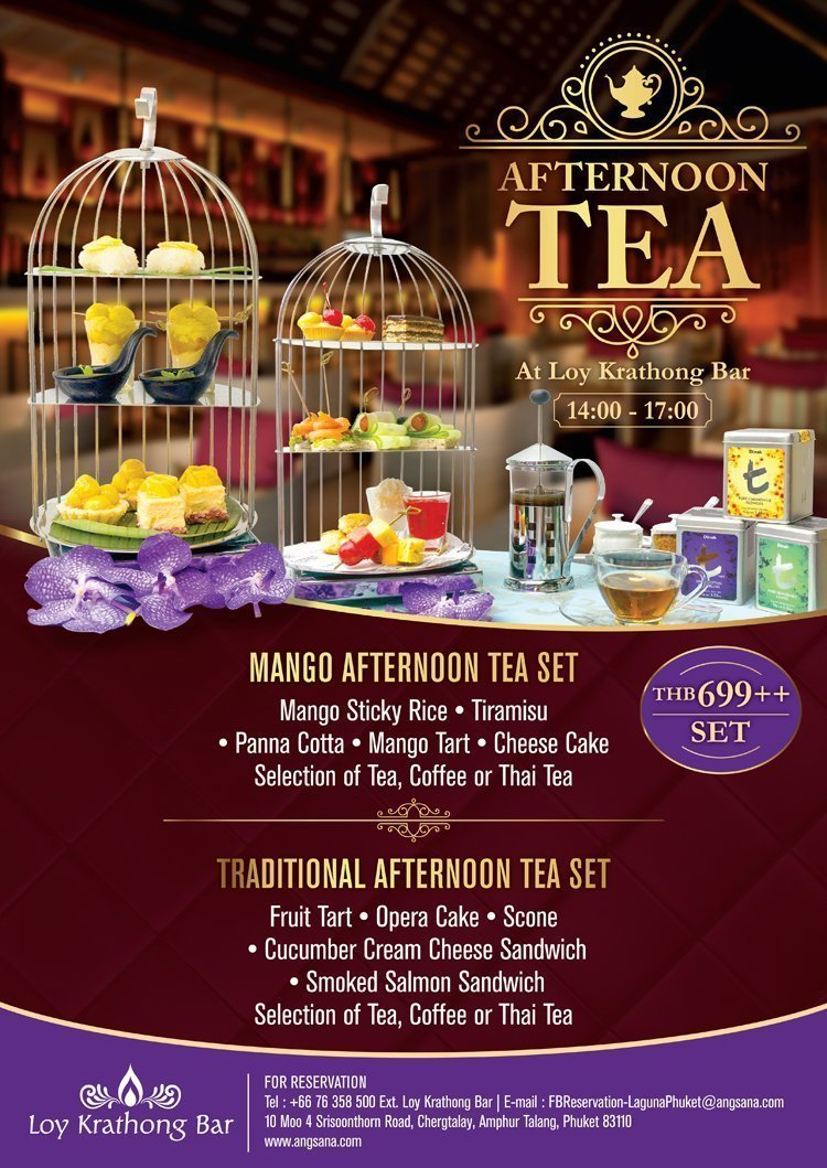 Traditional Afternoon Tea Set