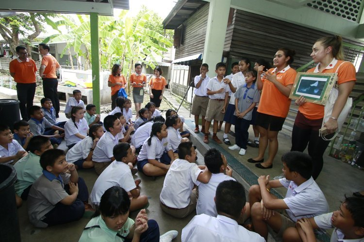 ONYX Hospitality Group collaborates with WWF-Thailand on Eco-Schools Programme at Wannawit School