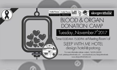 Blood & Organ Donation Camp On November 07, 2017