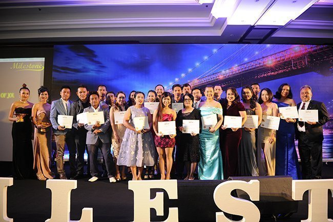 Marriott Hotels & Resorts in Phuket gives recognition to 71 long-serving associates during the Marriott milestone's gala dinner