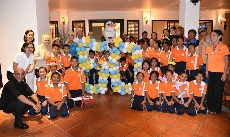 Sofitel Krabi celebrated 50th Anniversary AccorHotels with NAT Association