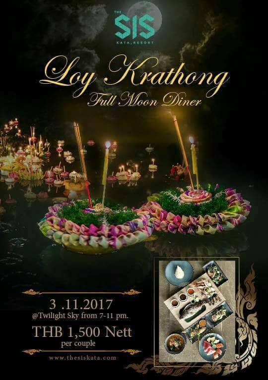 """Loy Krathong"" at The SIS Kata"