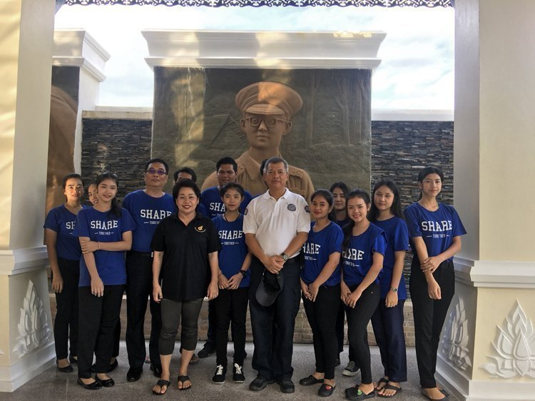 Deevana Patong Resort & Spa join a beach cleaning project at Patong beach