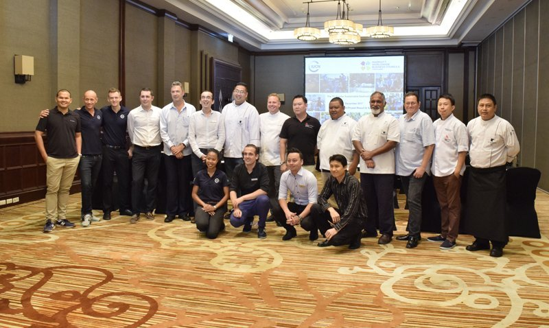 JW Marriott Phuket hosts the first Marriott International's Cluster Sustainable Seafood Meeting