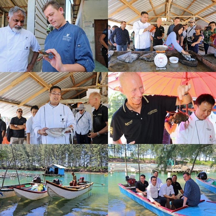 JW Marriott Phuket Resorts & Spa hosts the first Marriott International's Cluster Sustainable Seafood Meeting