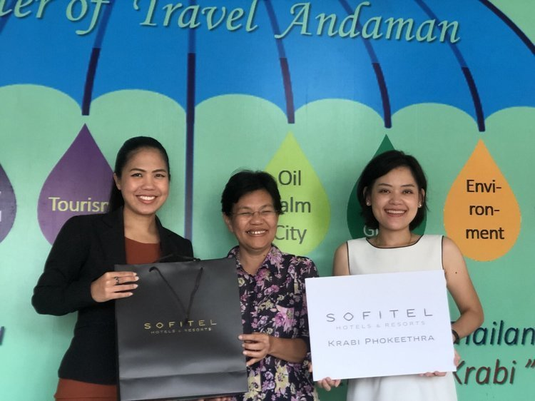 Sofitel Krabi Phokeethra Golf & Spa Resort gives appreciation to local supporters