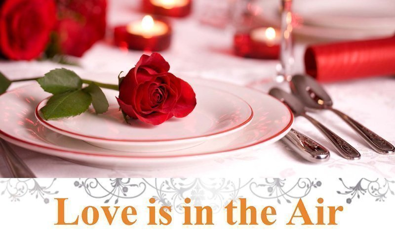 Love is in the Air! – Panache Restaurant