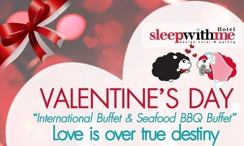 Valentine's Day Buffet Dinner– SWAY WITH ME garden restaurant & bar