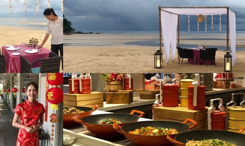 Phuket Marriott Resort and Spa, Nai Yang Beach celebrates Valentine's Day and Chinese New Year with Memorable Experience