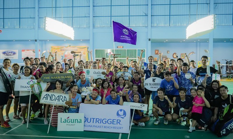 Hotel Badminton Teams Raise Funds for Phuket School