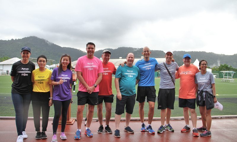 "Marriott Hotels in Phuket Celebrate Annual ""Andaman Sports Day"""