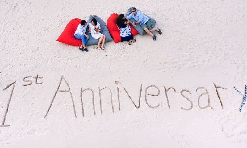 "Phuket Marriott Resort and Spa, Nai Yang Beach welcomes back ""Dream Wedding"" couples for first anniversaries"