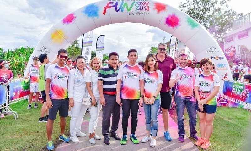 Thanyapura's Colour Fun Run – The Happiest Run on Phuket Island!