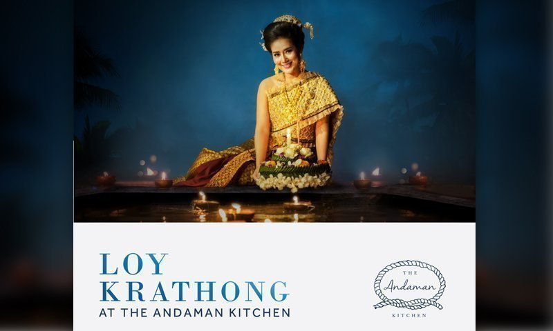 Loy Krathong at The Andaman Kitchen