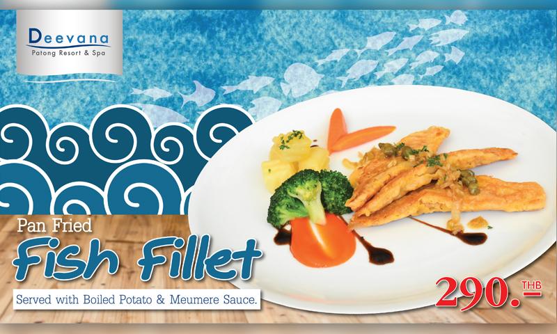 Promotion: Taste of Pan Fried Fish Fillet , Deevana Patong Resort & Spa