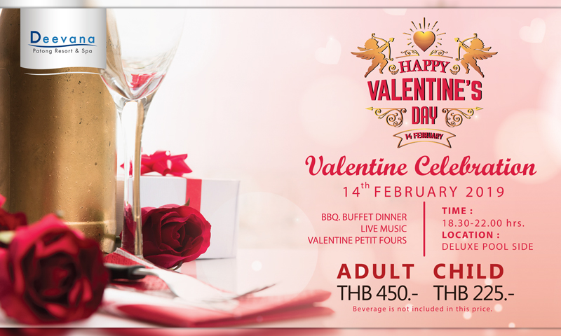 Happy Valentine Day 2019, Deevana Patong Resort & Spa