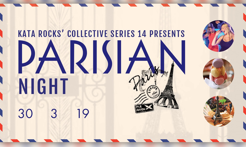 Kata Rocks collective series XIV - Parisian Night