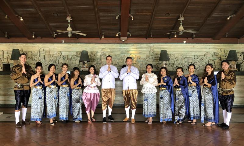 JW Marriott Phuket Resort & Spa  Celebrated Songkran Festival in Traditional Thai New Year Style