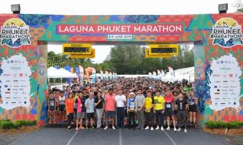 Filipino and Japanese runners shine at 2019 Laguna Phuket Marathon