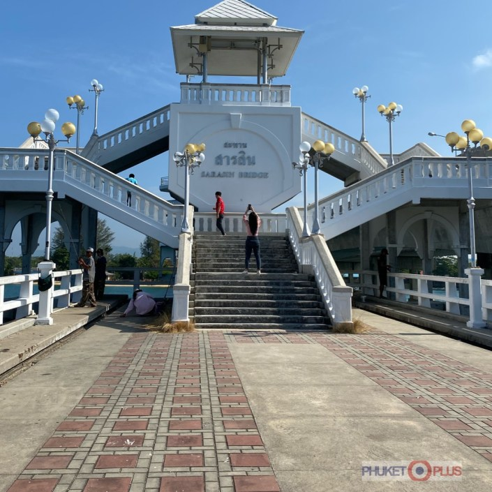 мост Сарасин соединяющий остров Пхукет и материк