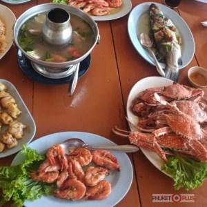 обед на экскурсии морепродукты