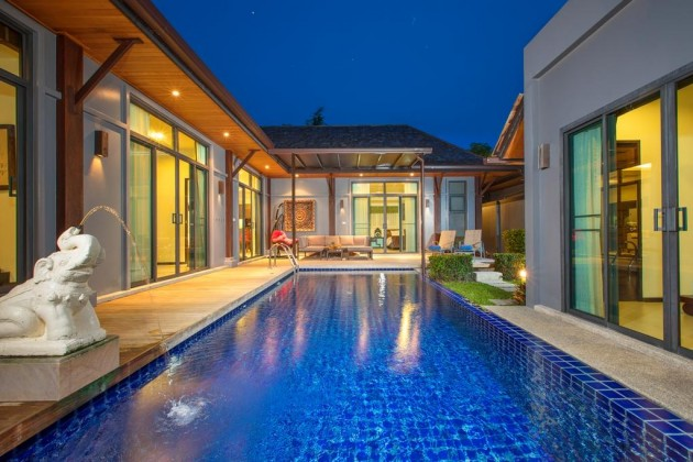 Saiyuan Estate Private Pool Villa For Sale In Rawai Phuket