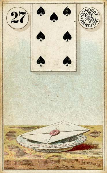 Lenormand Card 27Letter