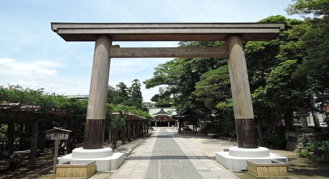 久伊豆神社の第三鳥居