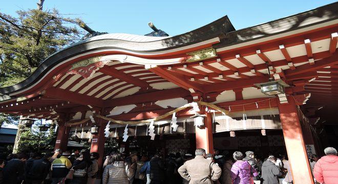 越ヶ谷久伊豆神社(拝殿)