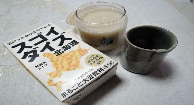 豆乳と生甘酒