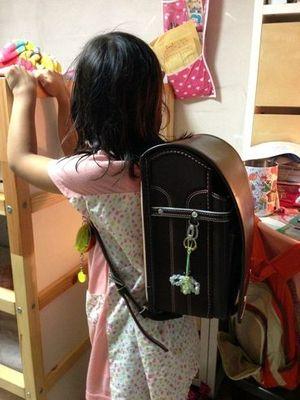 お気に入りの中村鞄のランドセル