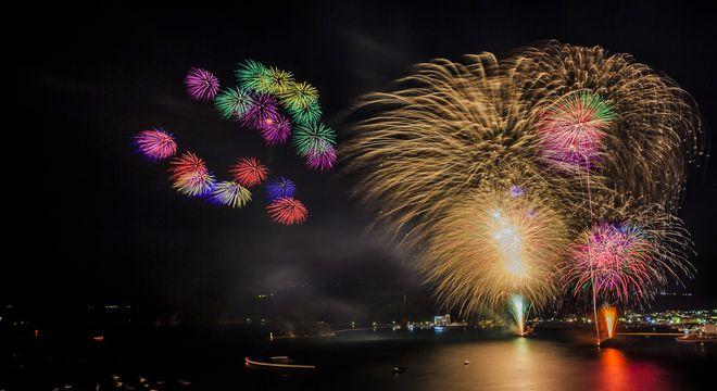 黒船祭|花火大会