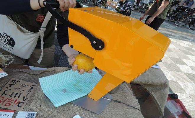 グレープフルーツ生搾り機|カジュッタ