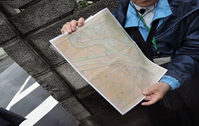 利根川の地図