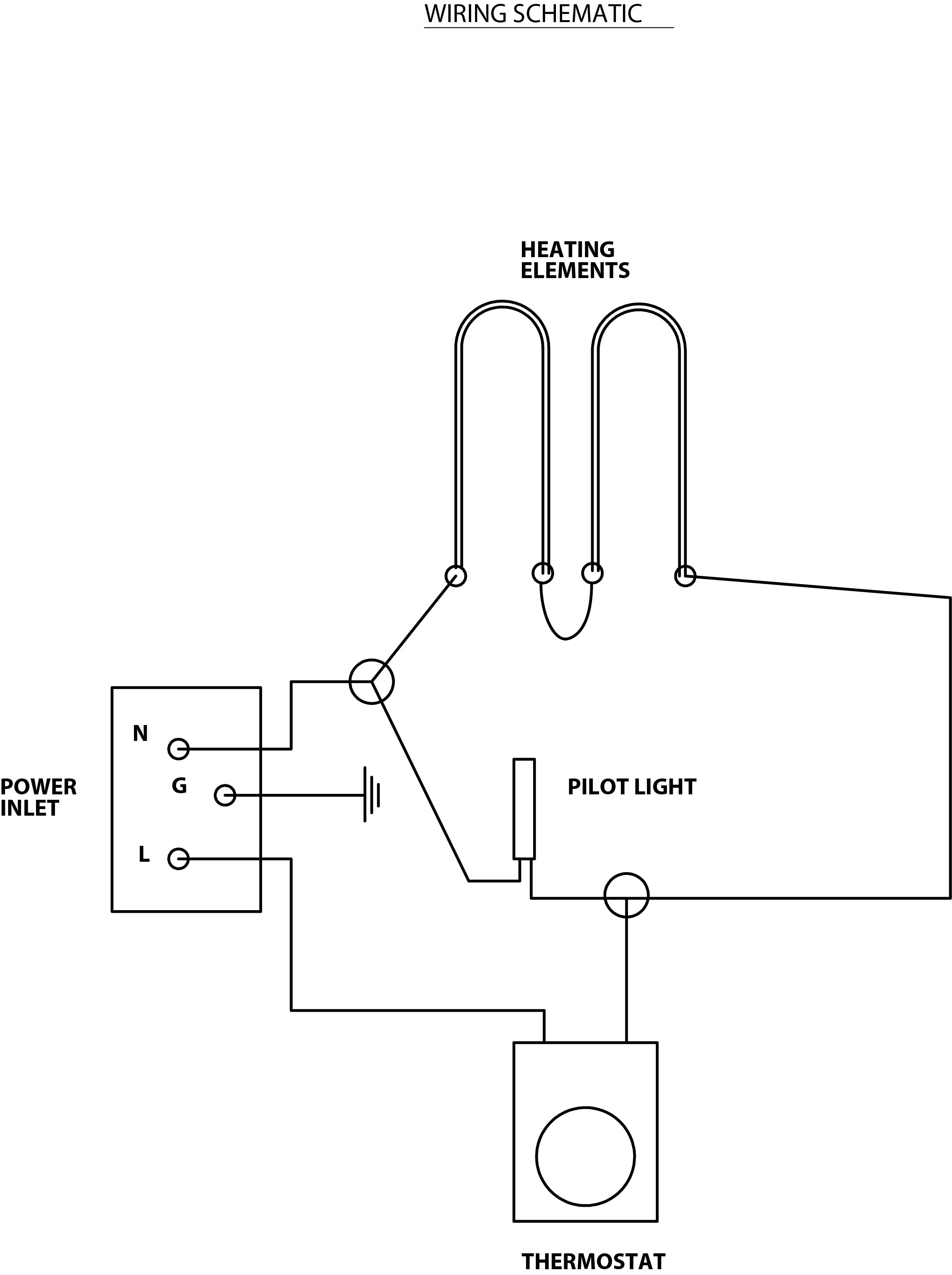 [WRG-5660] Heater Element Wiring Diagram