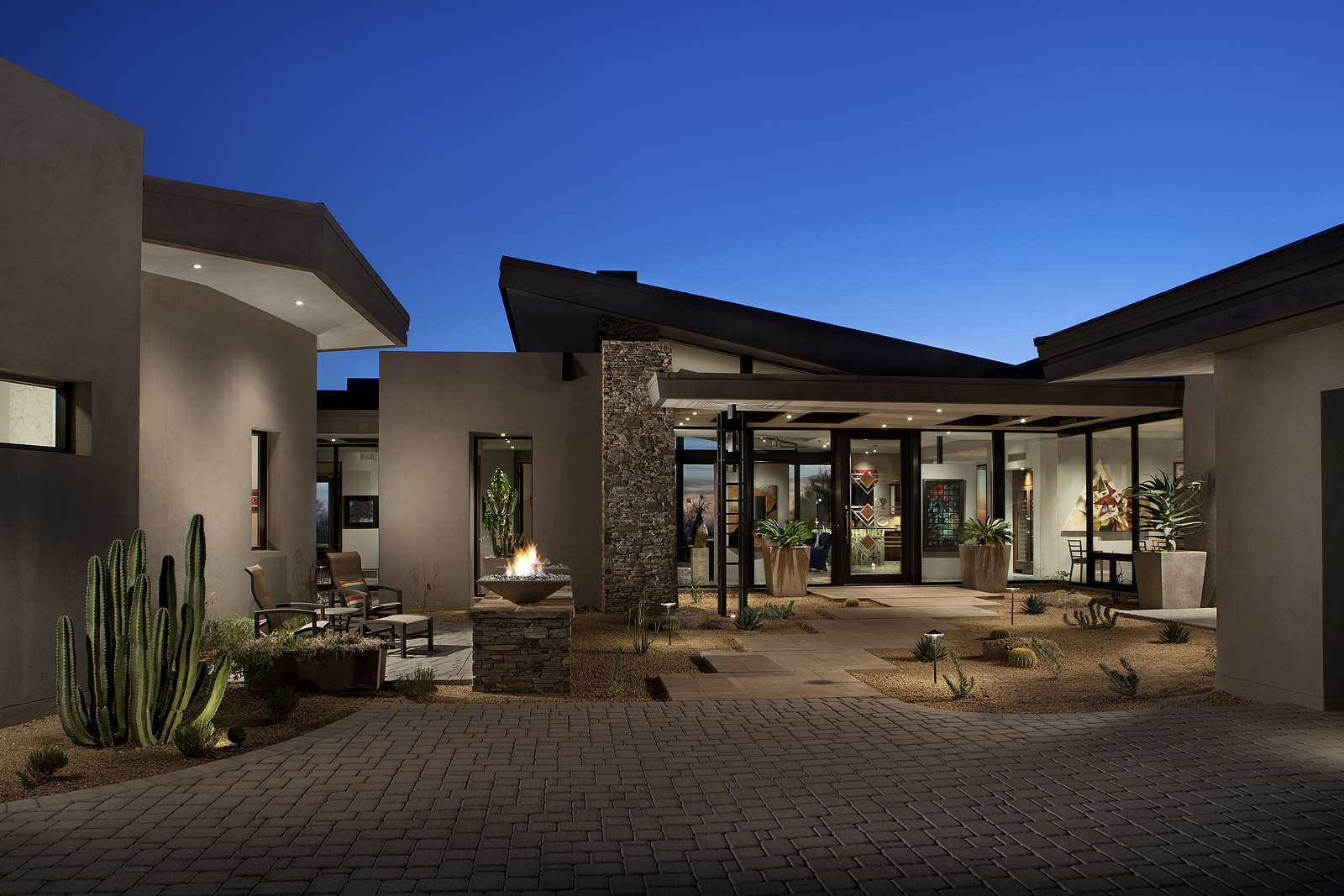 Project Feature Contemporary Desert Mountain Estate  PHX Architecture