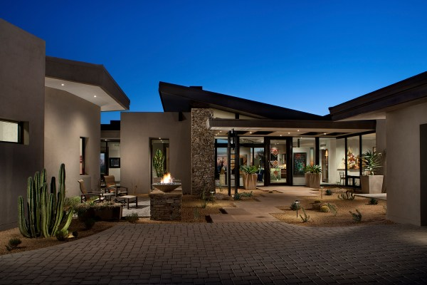 Contemporary Modern Desert Homes