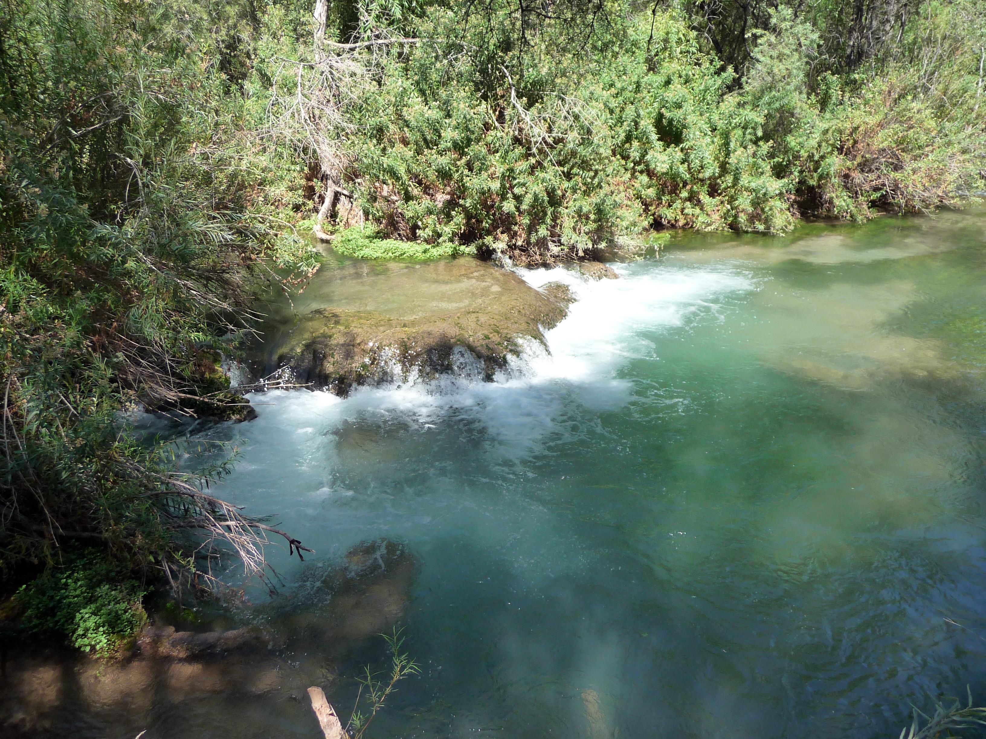 The pools at Navajo Falls