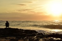 Sunrise in Oahu.