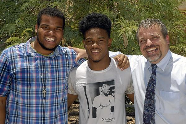 The Baptism of King Solomon Burke 7/13/2014