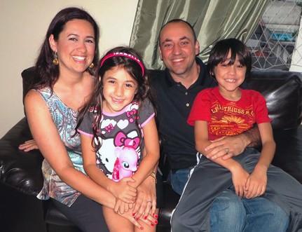 RAUL, LYNDA, FILIPE AND BELLA MORENO!
