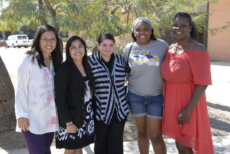 How amazing is it that, Nubian Thompson, was able to baptize her daughter Veronique White, pictured here with the women who studied the Bible with her!