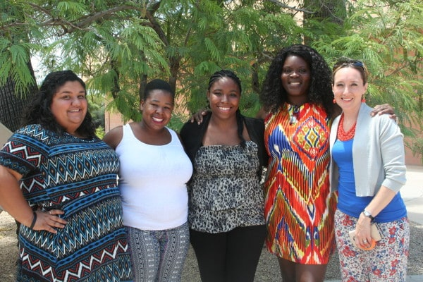 We are so grateful that God moved Regina Daniel's (center) heart and life to become our sister in Christ!