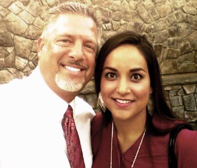 RD & April Baker - the courageous Dubai Mission Team Leaders!