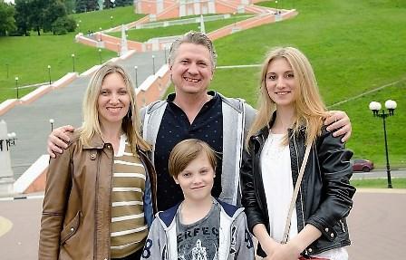 Sergey, Lena, Kristina and Nikita Lamekins!