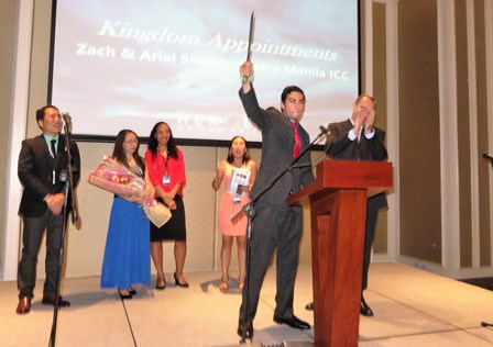 Zack fulfills his destiny and becomes an Evangelist  in the Kingdom God!