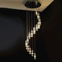 Modern Crystal Stair Chandelier 7372 : Browse Project ...