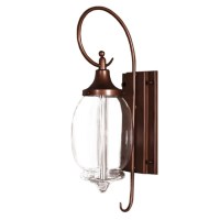 Antique Clear Blown Glass Shade Wall Sconce 11137 : Browse ...